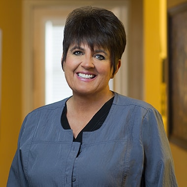 Cathi who is a dental hygienist at Thompson Family Dental at Nora