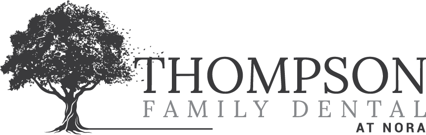 Thompson Family Dental at Nora Desktop Logo