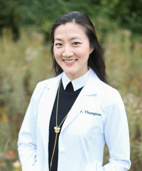 Dr. Jiyun Thompson - dentist in Indianapolis and owner of Thompson Family Dental at Nora