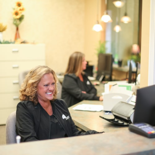 Our front office team will help you schedule your restorative dentistry treatments